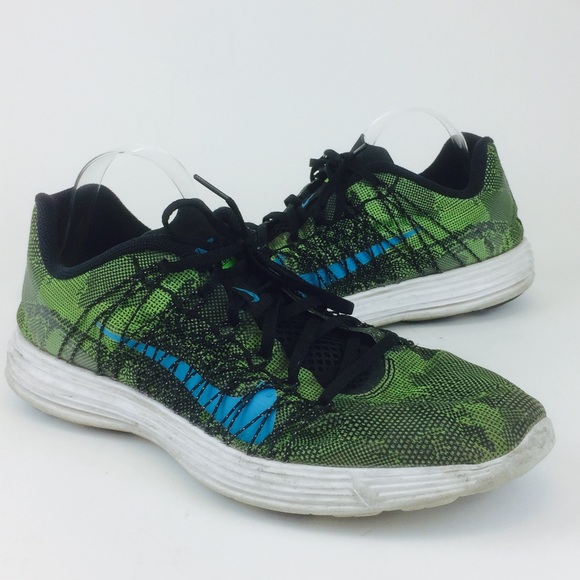 Nike Lunaracer 3 Green & Black Running Sneakers
